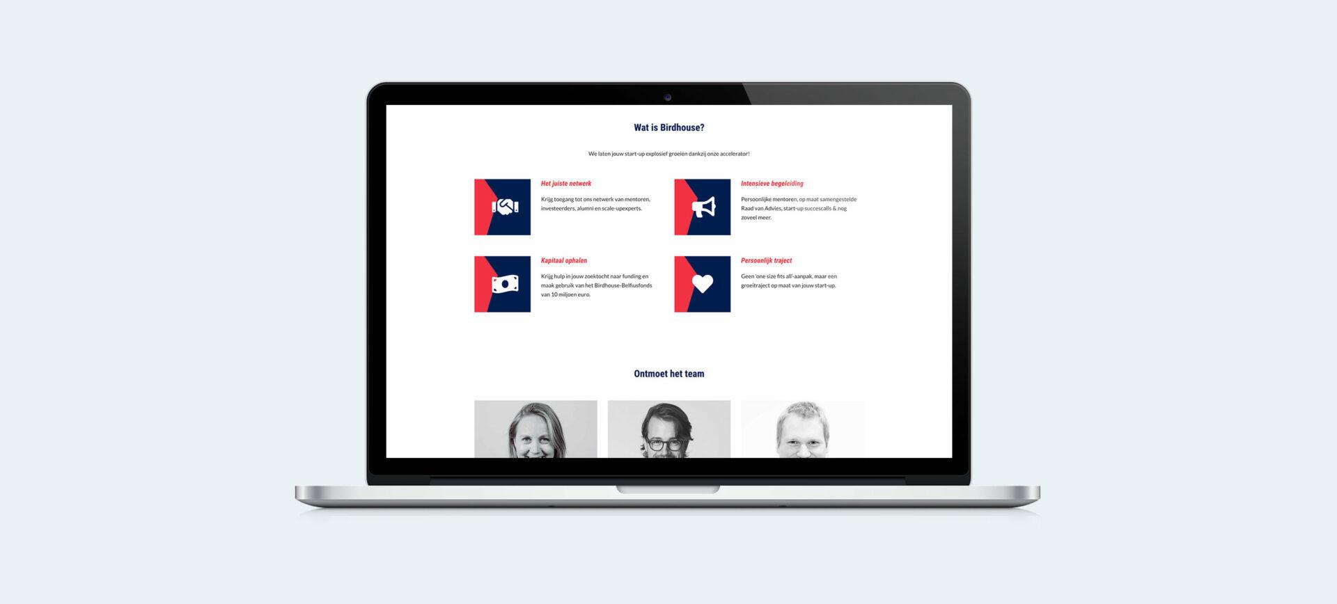 Birdhouse Website – screenshots